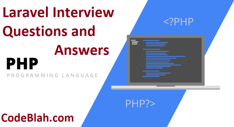 Laravel Interview Questions